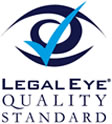 Legal Eye Quality Standard Logo